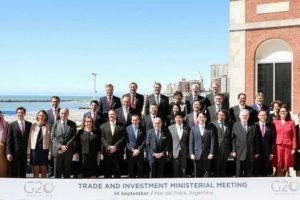 Los ministros de Comercio del G20 se reúnen en Mar del Plata en medio de tensiones globales