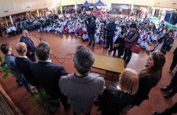 """Arroyo puso en marcha las dos primeras """"Escuelas para el Desarrollo Sostenible"""""""