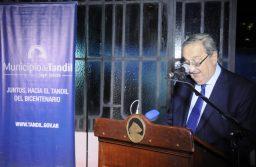 Lunghi destacó la economía diversificada de Tandil y el rol de la Industria