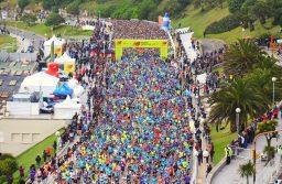 9.000 atletas participaron del 29° Maratón Internacional Ciudad de Mar del Plata