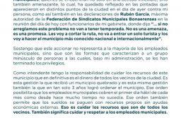 """Arroyo sobre el conflicto municipal: """"No nos van a extorsionar"""""""