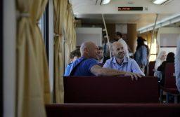 Tren directo a Mar del Plata desde Constitución. El ministro de Transporte  Guillermo Dietrich  Fotos Emmanuel Fernández