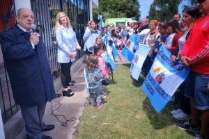 """Arroyo participó del acto de inauguración del Jardín de Infantes 951 que se llamará """"Héroes del ARA San Juan"""""""