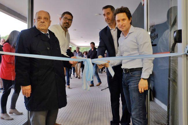 Arroyo inauguró el Complejo Educativo Tecnológico (CETec)