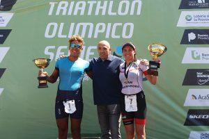 Buenahora y Morandini ganaron el 12° Triatlón Olímpico Series ISSports de Mar del Plata