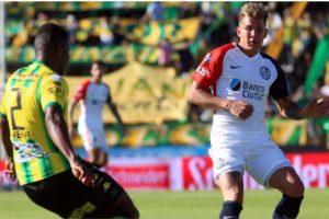 Aldosivi le empató en tiempo de descuento a San Lorenzo en el Minella