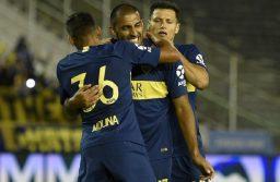 Boca ganó con lo justo y levantó cabeza ante Aldosivi