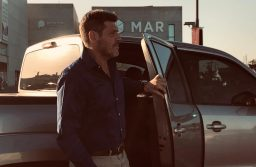 Guillermo Castello fue el primer pasajero de Uber en Mar del Plata