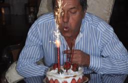 Daniel Scioli festejó sus 62 años en el Hotel Hermitage