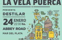 El rock Rioplatense de La Vela Puerca llega este jueves a Mar del Plata