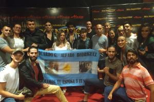 """Familiares del ARA San Juan presentes en la función de  """"Bien Argentino"""""""