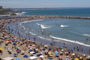 La temperatura del mar durante enero promedió los 21º