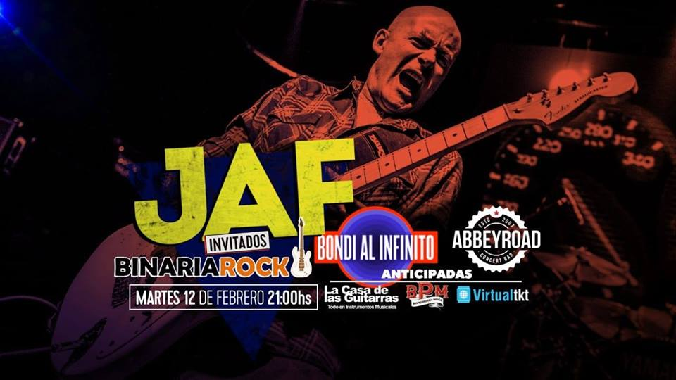 ESTE MARTES JAF REGRESA A ABBEY ROAD VERANO 2019