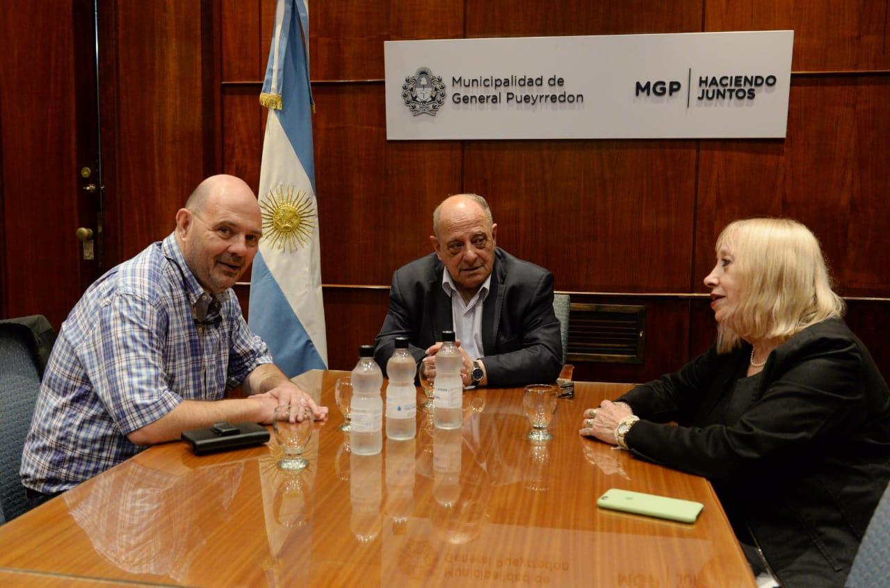 Arroyo se reunió con Carlos Rotemberg