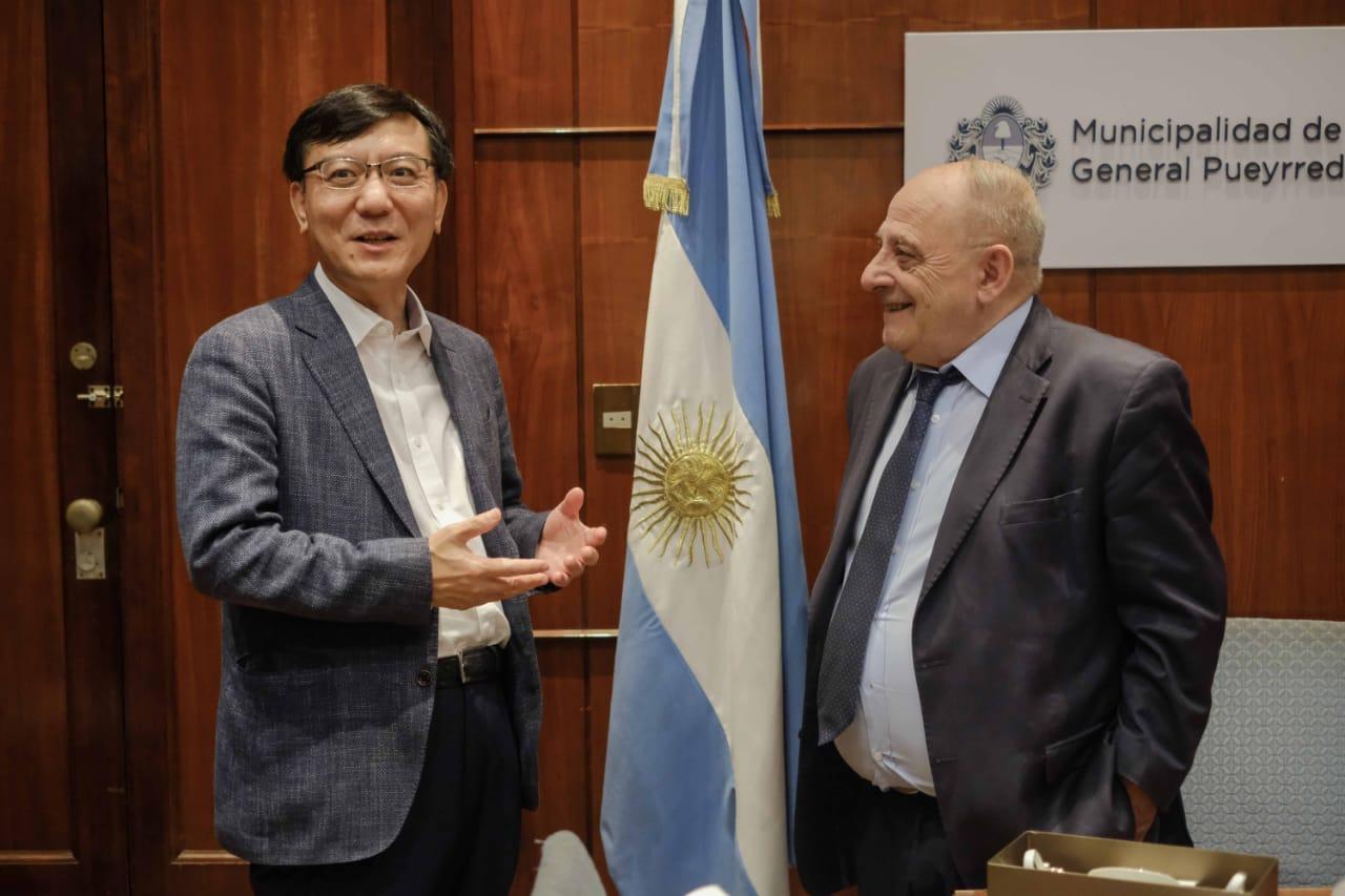 Arroyo recibió al embajador de Corea del Sur en la Argentina