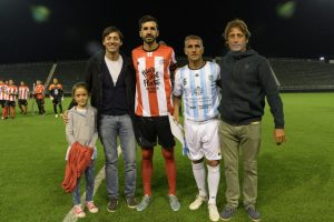 Acciones solidarias en el Fútbol de las Leyendas