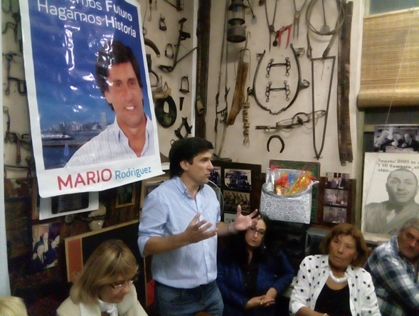 """Concejal Mario Rodríguez: """"El espacio Progresista va a encarar el desafío de pelear por la Intendecia de General Puerredón"""""""