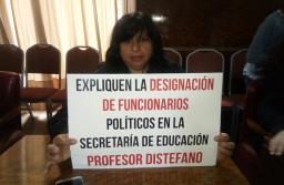 Mourelle sufrió el acoso laboral de los docentes