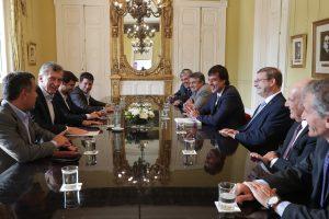 Rector de FASTA en ronda de consultas con el presidente Macri