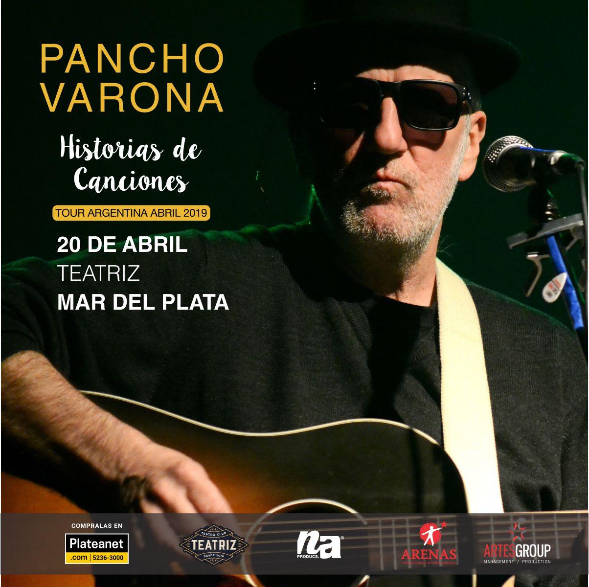 """Noche Sabinera: Pancho Varona llega a Mar del Plata con """"Historias de Canciones"""""""