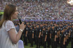 """Vidal celebró el fallo que condenó a policías bonaerenses coimeros y destacó la """"lucha contra las mafias"""""""