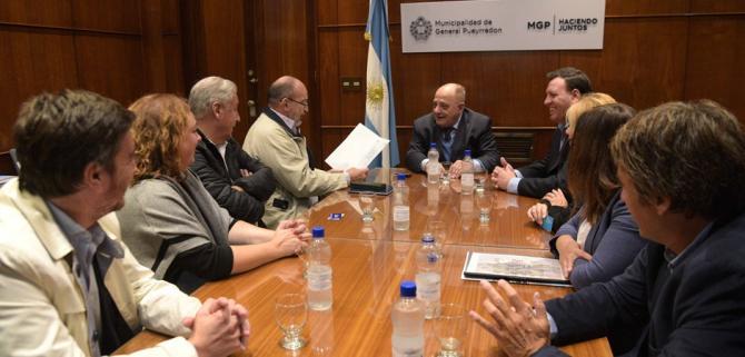 Arroyo dio el beneplácito para la vinculación institucional entre Mar del Plata y Sidney