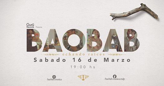 Baobab se presenta en el espacio cultural Mele