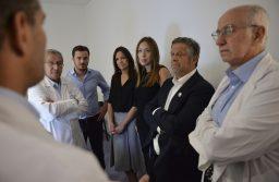 """María Eugenia Vidal y Carolina Stanley visitaron el hospital """"El Cruce"""" del partido bonaerense de Florencio Varela"""