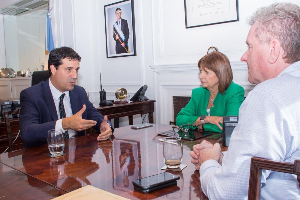 Abad se reunió con Patricia Bullrich luego del megaoperativo antidroga en Mar del Plata