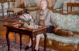La Reina de Dinamarca, Margarita II, llega a Tandil