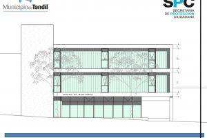 Tandil: El Municipio presentó el proyecto del nuevo edificio del Centro Inteligente de Operaciones