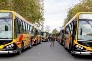 Paro del transporte público de Necochea ante el incumplimiento de acuerdos por parte de empresarios