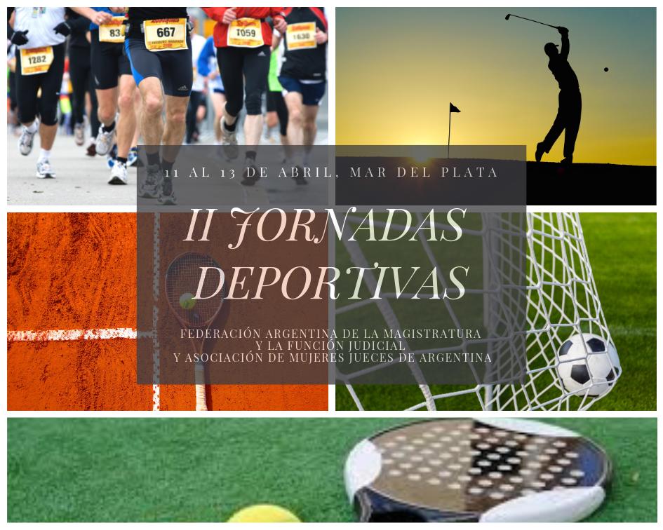 Jueces de todo el país se dan cita en las Segundas Jornadas Deportivas de Mar del Plata