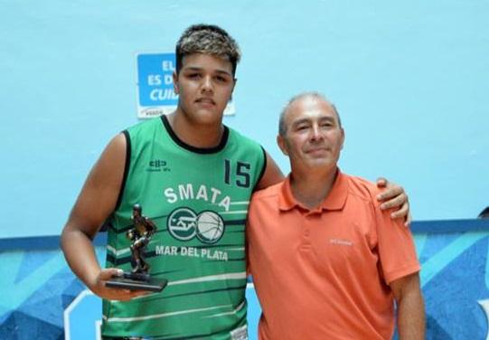 El marplatense Tiziano Prome participa en la NBA Junior
