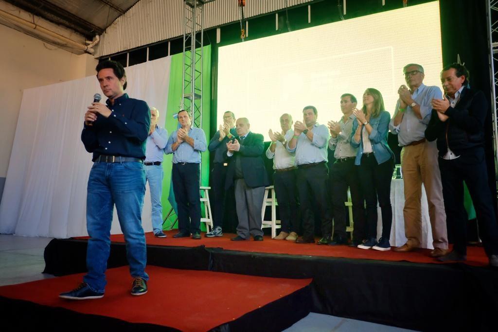 Arroyo participó de la Mesa Distrital de Educación junto al ministro Sánchez Zinny