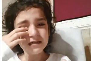 Desconsolada: Una nena perdió a su perra y pidió ayuda con un video que enterneció a todos