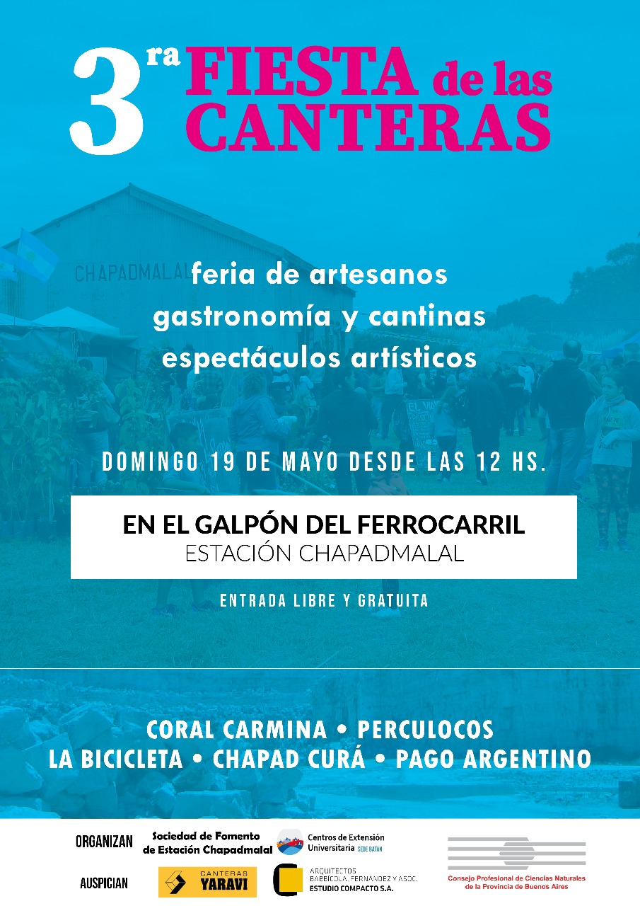 3ª Fiesta de las Canteras en el Pueblo Estación Chapadmalal