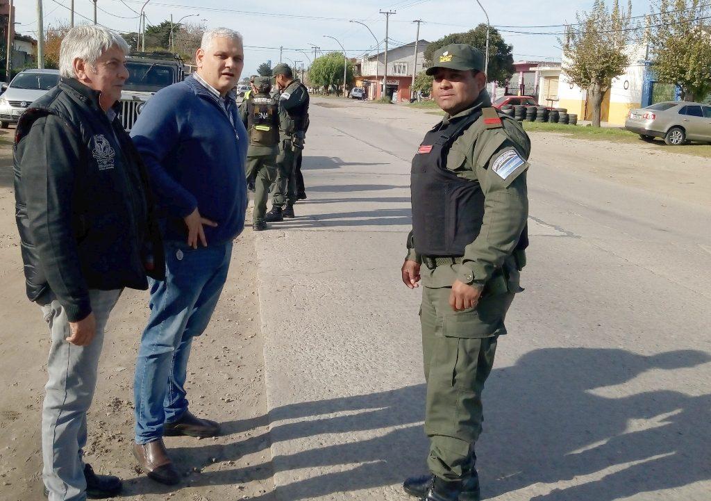 Primer operativo de Tránsito en conjunto con Gendarmería Nacional