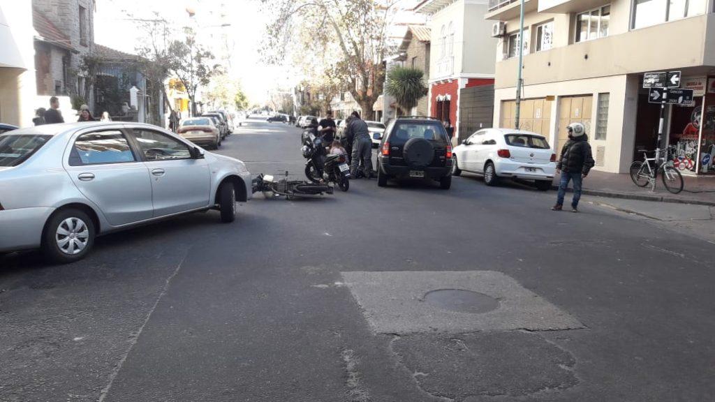 Grave accidente con un motociclista en Gascón y Santiago del Estero