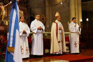 Monseñor Mestre presidirá el Te Deum por el 25 de mayo