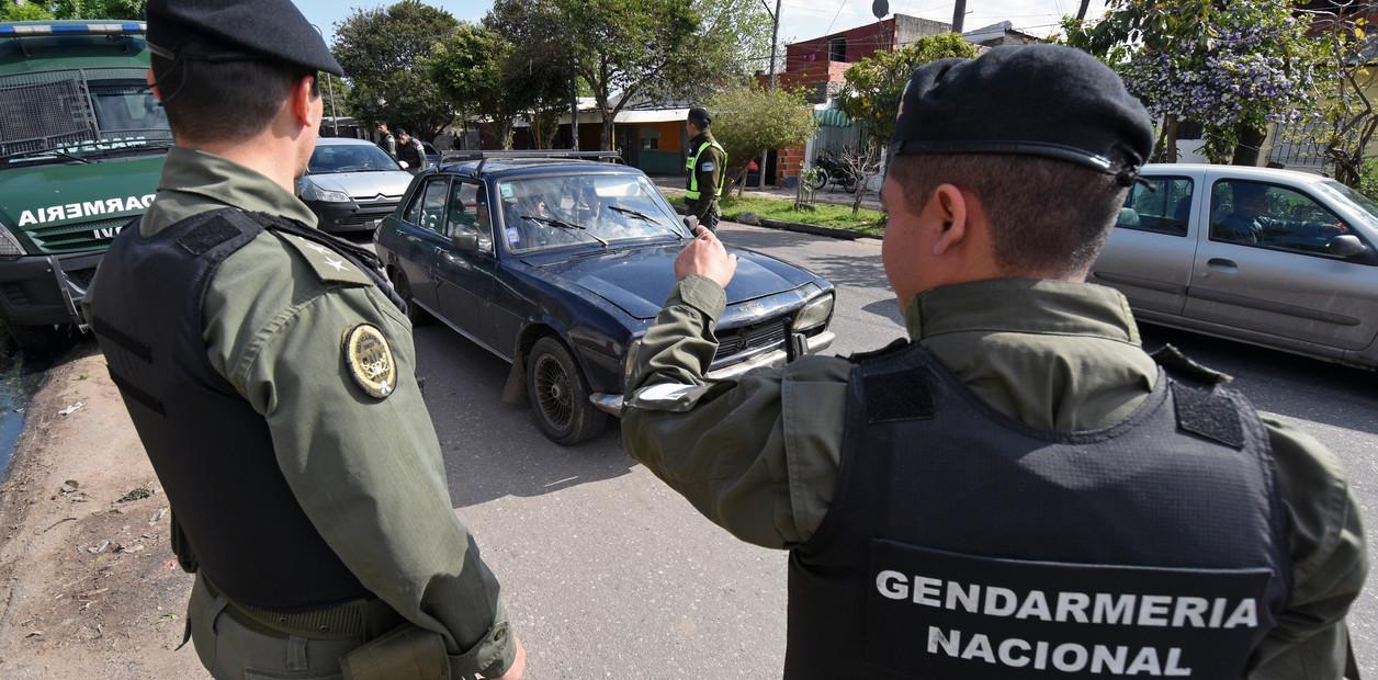 En 180 y San Lorenzo: Mega operativo de Gendarmería con el apoyo del Municipio