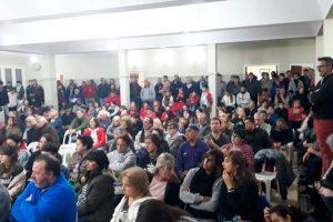 Tras finalizar la conciliación obligatoria, la comunidad de Barker busca evitar el cierre de Loma Negra