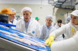 Lavagnaen Mar del Plata con Bonifatti: mayor venta de pescado podrido