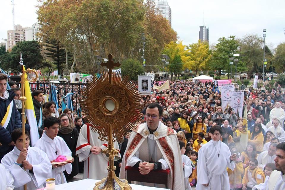 El sábado los católicos celebrarán el Corpus Christi en la ciudad
