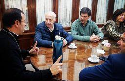 Roberto Lavagna y la Mesa de Consenso Federal Mar del Plata  se reunieron con el Obispo Gabriel Mestre