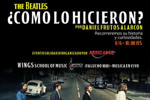 Charla sobre The Beatles con fin solidario