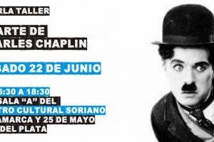 Realizarán charla sobre Charles Chaplin a beneficio de un comedor