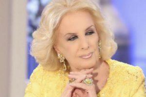 Mirtha Legrand todavía no puede volver a la televisión