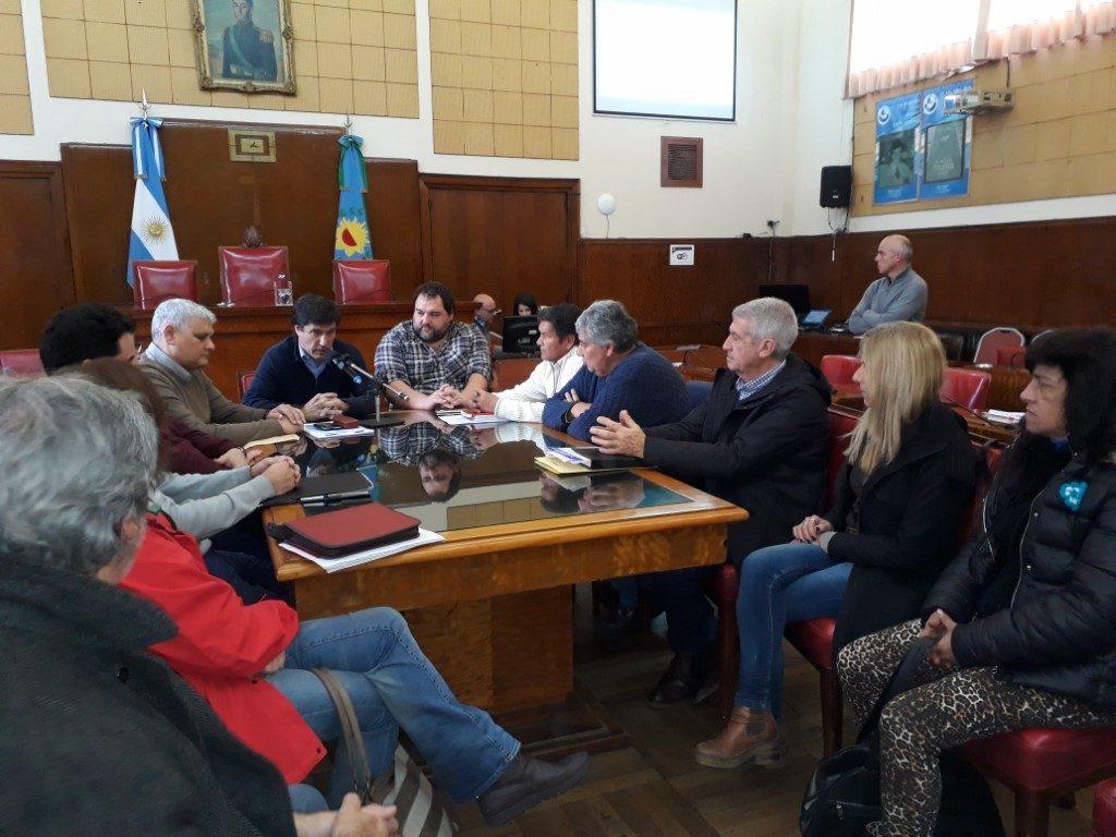 Se realizó la primera Mesa debate sobre educación vial en el distrito
