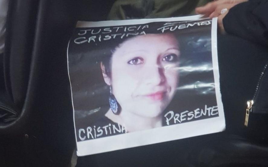 Condenaron con prisión perpetua al albañil femicida de Cristina Fuentes